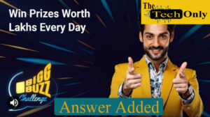 Flipkart Bigg Buzz Challenge Quiz