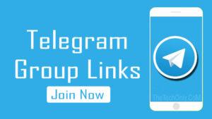 Telegram Group Links