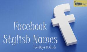 FB Stylish names