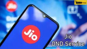 Jio DND Service